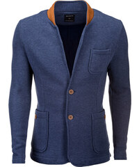 6fffcb5a9eb7 Ombre Clothing Pánske sako Jacques jeansové