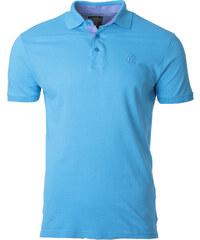 012b9df01c5d Ombre Clothing Pánské polo triko s límečkem Sidney tyrkysové