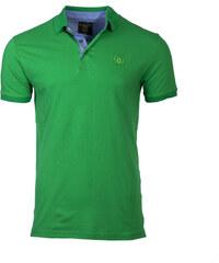 Ombre Clothing Férfi galléros póló Sidney zöld 70d66686ae