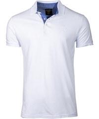 46720b571d2d Ombre Clothing Pánské polo triko s límečkem Sidney bílé