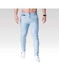 Ombre Clothing Pánske chino nohavice Bristle svetlo modré 7180ec464a