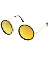 12d0b8323 Level One Slnečné okuliare lenonky Colossus zlaté rámy červené sklá