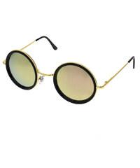 f19954c0a Level One Slnečné okuliare lenonky Colossus zlaté rámy farebné sklá