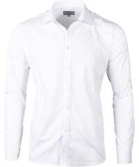 Victorio Pánské košile na manžetové knoflíky Trader bílá 8c7653d645