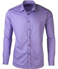 28ebb20de8c3 Victorio Pánska košeľa na manžetové gombíky Trader fialová