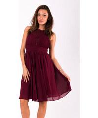 b26660b0f4af Adria Dámské šaty Louise bez rukávů s krajkou