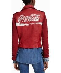 18df9bf0e6c Desigual červený koženkový křivák Lucy Coca Cola - 44