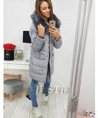Brand Dámska zimná bunda LAPLAYA s kapucňou (ty0357) - sivá ty0357 af7f6325c36