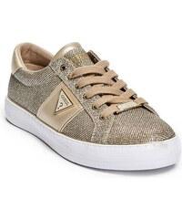 Tenisky GUESS Gilda Logo Low-Top Sneakers zlatá 38 8fe9fa7572