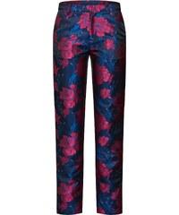 Květované dámské kalhoty s dopravou zdarma  8e2969c415