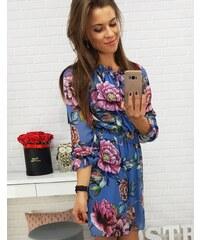 3f9029e020 Kvetované Šaty s dlhým rukávom