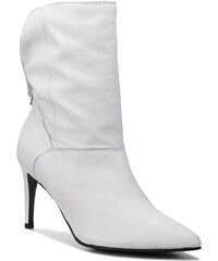 28b3e5216e1f Biele Členkové Dámske čižmy a členkové topánky - Glami.sk
