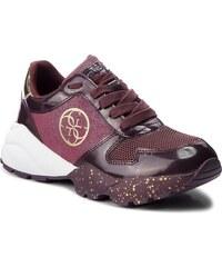 Vínové nízké dámské boty - Glami.cz ecfb96b70dc