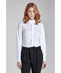 6a2dd5a24bf Nife Dámská košile K31 bílá