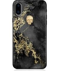 Zadní kryt Bling My Thing Treasure Onyx Gold Skull pro Apple iPhone X XS da122d12077