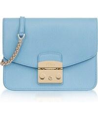 81cd2bd9c2 Metropolis S Fiordaliso kožená spoločenská kabelka modrá Furla 967825