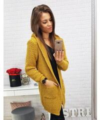 dddd0ad0383 Dámský svetr Lea žlutý - žlutá