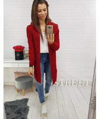 Dámský svetr Merida červený - červená a4534db897
