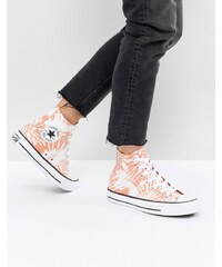 Converse Chuck Taylor All Star Hi Trainers In Tie Dye - Multi 40954a5551