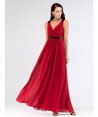 Úchvatné bordo šaty Ever Pretty 7592 988f8a2dfc