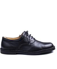 Vasky Pánské kožené oxford boty Night černé e842d06111