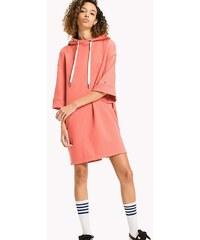 Tommy Hilfiger dámské korálové mikinové šaty Garment 4ffe2c614b