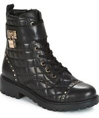 Guess černé dámské boty na platformě - Glami.cz f056166534