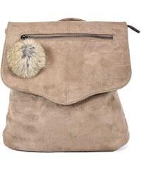 Urban Style mini batoh 336 dámský béžový 10l 1ffdbdf9d7