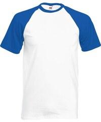 Fruit of the Loom Pánské tričko Baseball s krátkým rukávem 8f25981c90