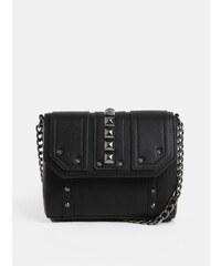 1a5caa3bcf Čierna crossbody kabelka so strapcami Miss Selfridge. Detail produktu. Čierna  crossbody kabelka s kovovými detailmi Pieces Samino