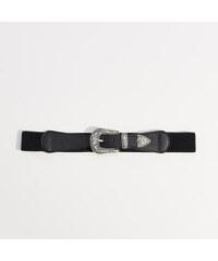 c7a6760b28c Mohito - Elastický pásek s ozdobnou sponou - Černý