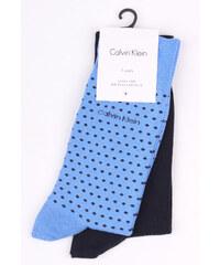 15cbd0efac3 Calvin Klein 2 pack modrých pánských ponožek Navy - 43-46 - Glami.cz