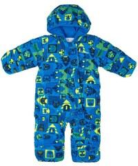 0bd98ce3fe1 Columbia Chlapecká kombinéza Snuggly Bunny Bunting Super Blue Critters -  modrá