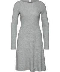 914cb012003 BOSS Úpletové šaty  Iesibedda  stříbrně šedá