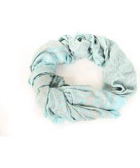 ba0183f6674 Tommy Hilfiger dámský světle modrý šátek s šedým vzorem