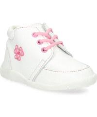 c6955c794172 Baťa Detská dievčenská kožená členková obuv