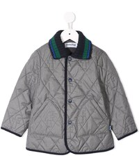 Familiar quilted padded coat - Grey 5cae6e0c9ca