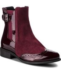 Magasított cipő SAGAN - 3019 Bordowy Lakier 41f30486b8