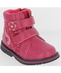 b7faa5c890 Mini B Detské ružové kožené zimné topánky - Glami.sk