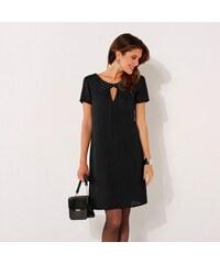 57cc995950e Blancheporte Šaty s krátkými rukávy černá