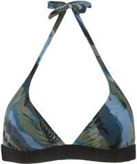 Track   Field printed bikini top - Blue a980a5ebca
