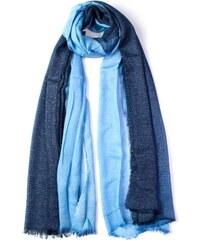 9a1572b9b54 coxes Dámský šátek s flitry duhový modrý 200 100