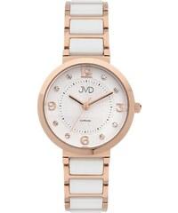 bf1806d1f2c Dámské náramkové hodinky JVD JG1004.2 se safírovým sklem a keramickými prvky