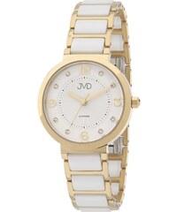 Dámské náramkové hodinky JVD JG1004.3 se safírovým sklem a keramickými prvky d25e5585077