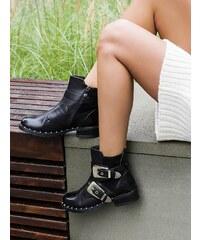 8d4d792f9fb2 MODANOEMI Lakované topánky s prackou a zdobením MNA3353-1C - Glami.sk