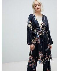 463368fe36e Pepe Jeans Harpers floral print wrap dress - Multi