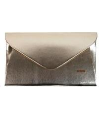 b46d9af3a504 Luxusná zlatá dámska listová kabelka SP126 GROSSO
