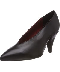 Buffalo Damen C564A 1 S0071A IMI Suede Pumps Schwarz (Black