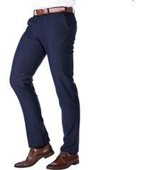 Zapana   Konik Pánské společenské kalhoty Eduardo navy 84c9771c9a