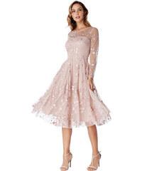 CITYGODDESS Společenské šaty Harmonia růžové b6282e9343